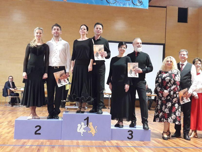 West Dance 2019 - 3. Platz für Elfi und Wilfried Böhler