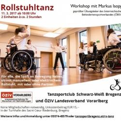 Workshop Rollstuhltanz